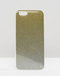 Signature Glitter Iphone 6 Case Gold Silver