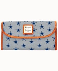 Dooney And Bourke Dallas Cowboys Clutch Gray