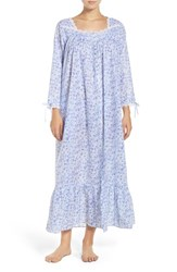 Eileen West Women's Front Button Modal Nightgown