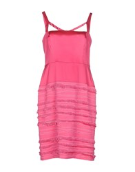 John Richmond Dresses Knee Length Dresses Women Fuchsia