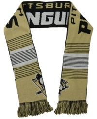 Forever Collectibles Pittsburgh Penguins Reversible Split Logo Scarf Black