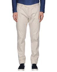 Luigi Borrelli Napoli Trousers Casual Trousers Men Beige