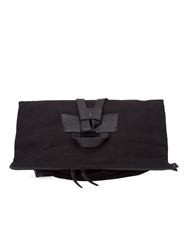 Ann Demeulemeester Soft Fold Over Backpack Black