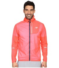 New Balance Lite Packable Jacket Bright Cherry Men's Coat Red