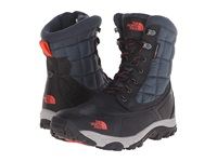 The North Face Thermoball Utility Phantom Grey Valencia Orange Men's Boots Black
