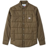 Penfield Albright Insulated Shirt Jacket Green