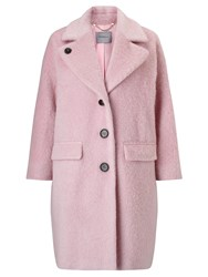 Marella Sahara Textured Coat Pastel Rose