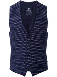 Loveless Polka Dots Vest Black