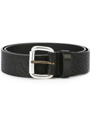 Diesel Textured Belt Black
