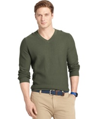 Izod Big And Tall V Neck Sweater Rosin