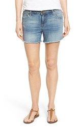 Women's Kut From The Kloth 'Gidget' Denim Cutoff Shorts