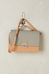 Anthropologie Awdry Structured Satchel Cedar