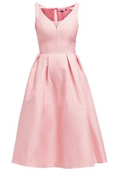 Chi Chi London Morgan Cocktail Dress Party Dress Salmon Pink Rose