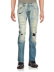 Cult Of Individuality Distressed Six Pocket Jeans Otto