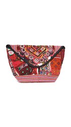 All Things Mochi Trapeze Clutch Multi