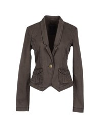 Guess Suits And Jackets Blazers Women Dark Brown