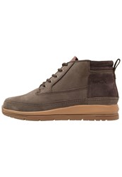 Boxfresh Cryser Laceup Boots Dark Brown