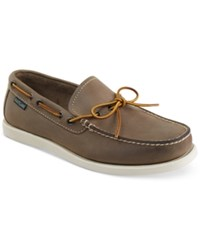 Eastland Shoe Men's Yarmouth 1955 Boat Shoes Men's Shoes Gray