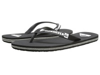 Quiksilver Molokai Black Black White Multi Snake Men's Sandals