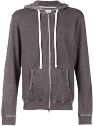 Fadeless 'Burn Out' Hoodie Grey