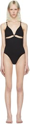 Alexander Wang T By Black Cut Out Swimsuit