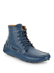 Del Toro Chandler Parsons Leather Boots Blue