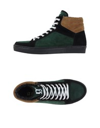 Galliano Footwear High Tops And Trainers Men Green