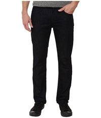7 For All Mankind The Straight W Clean Pocket In Deep Well Deep Well Men's Clothing Black
