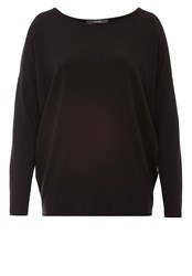 Hallhuber Oversized Long Sleeve Black
