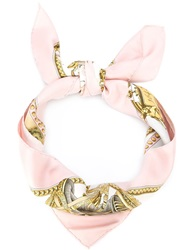 Hermes Vintage 'Presentation De Chevaux' Scarf Nude And Neutrals