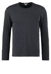 James Perse Long Sleeved Top Carbon Anthracite