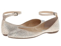 Blue By Betsey Johnson Joy Champagne Fab Women's Flat Shoes Silver