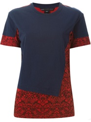 Marc By Marc Jacobs Printed Layered T Shirt