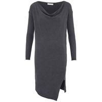 Supertrash Women's Dachire Zip Detail Jumper Dress Grey