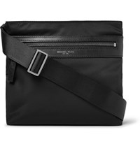 Michael Kors Kent Shell Messenger Bag Black