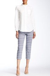 Insight Printed Techno Faux Fly Crop Pant Multi
