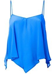 Roberto Collina 'Triangular Cami' Blouse Blue