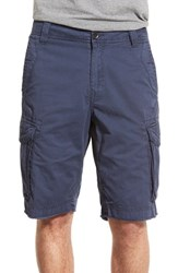 Men's Union 'Pacific Coast' Raw Hem Cargo Shorts Woad Navy