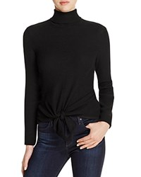 Nic Zoe And All Tied Up Turtleneck Sweater Black Onyx