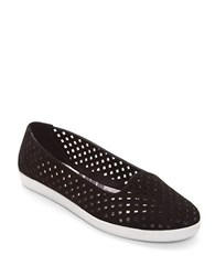 Easy Spirit Dexlee Perforated Flats Black