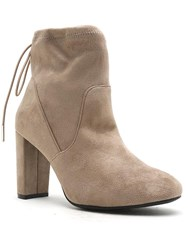 Qupid York Ankle Boot Taupe