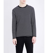 Levi's Mission Cotton Top Black Stripe