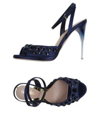 Sebastian Sandals Dark Blue