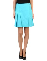Versace Skirts Knee Length Skirts Women Turquoise