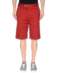 Aspesi Bermudas Brick Red