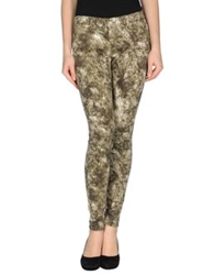 Paige Casual Pants Military Green