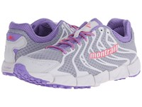 Montrail Fluidflex F.K.T. Columbia Grey Laser Red Women's Shoes Gray