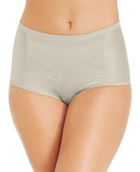 Vanity Fair Body Caress Lace Smoothing Brief 13262 Walnut
