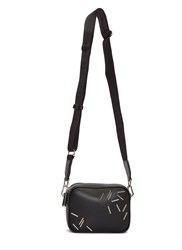 Christopher Kane Staples Box Crossbody Bag Black