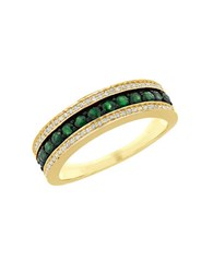 Lord And Taylor 14K Yellow Gold Round Ring